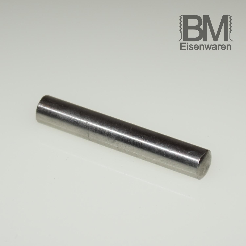 4mm bis 32mm Länge ISO 2338 A1 Edelstahl 1.4305 Ø 2,5mm Zylinderstifte DIN 7
